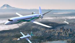 Elektriskt flygplan