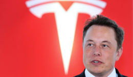 Tesla Motors Inc. Chief Executive Officer Elon Musk News Conference